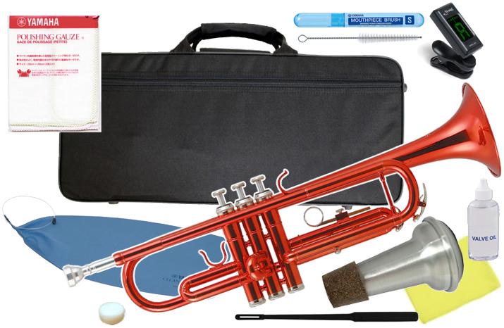 Kaerntner ( ケルントナー ) KTR-30 RED トランペット レッド 新品 初心者 管楽器 本体 赤色 メタリック カラー 楽器 B♭ Trumpets 【 KTR30 MRD セット B 】 送料無料