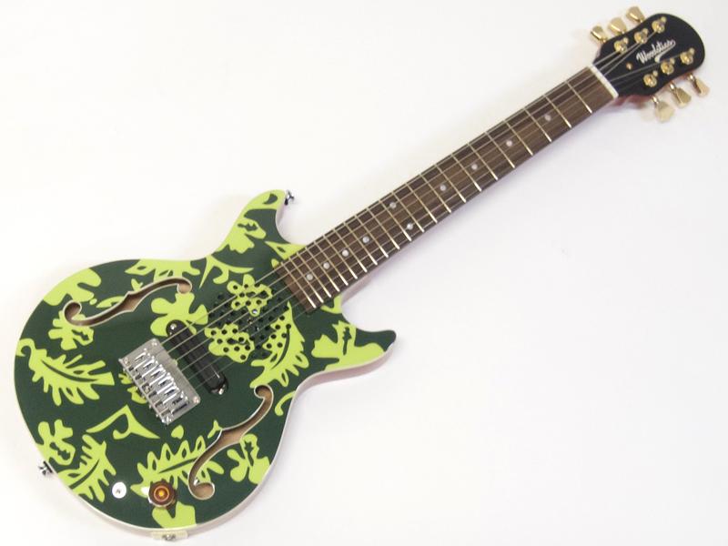 Woodstics WS-MINI ALOHA (DEEP GREEN & GREEN )【横山健 プロデュースブランド アンプ内蔵 ミニギター 】