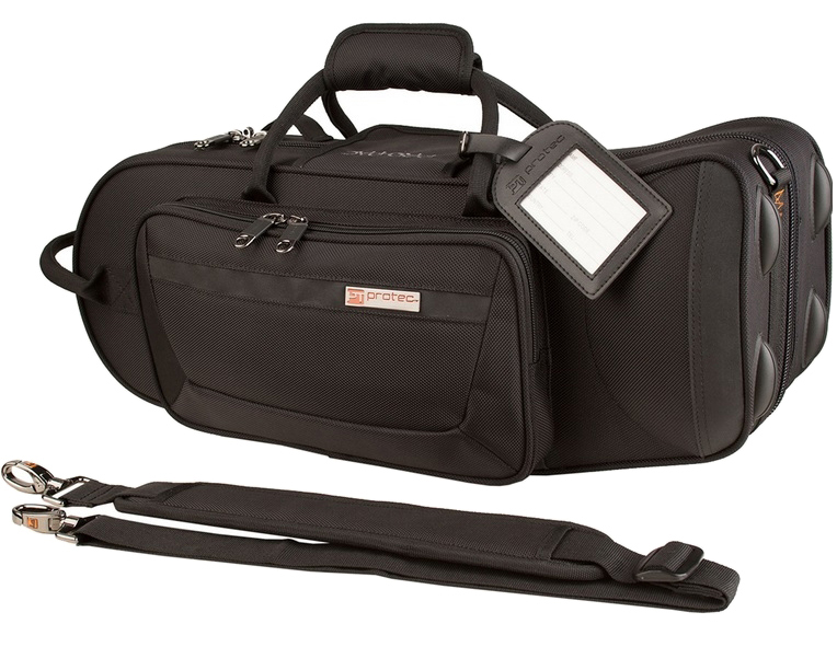 PROTEC ( プロテック ) PB-301TL single トランペットケース PB-301TL ショルダータイプ ブラック プロテック 管楽器 セミハードケース 肩掛け ストラップ付き シングルケース trumpet single case 送料無料, カバトグン:46ad530c --- sunward.msk.ru