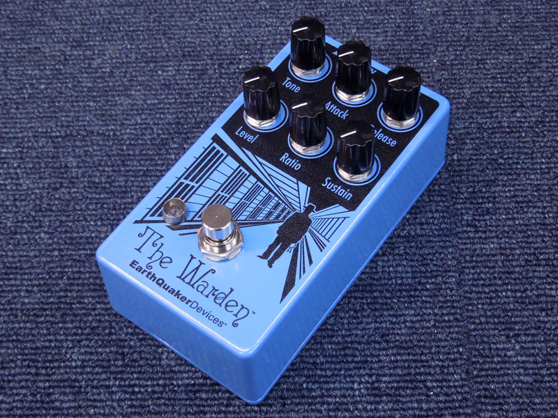 Earth Quaker Devices The Warden【コンプレッサー WO】【C4061 パッチケーブルプレゼント 】