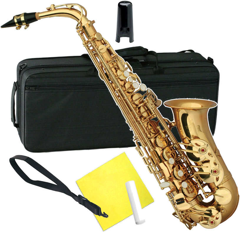 ZEFF ( ゼフ ) ZAS-30 アルトサックス ゴールド 新品 管楽器 初心者 サックス 楽器 本体 アルト サクソフォン 管体 ZAS30 alto saxophone 送料無料