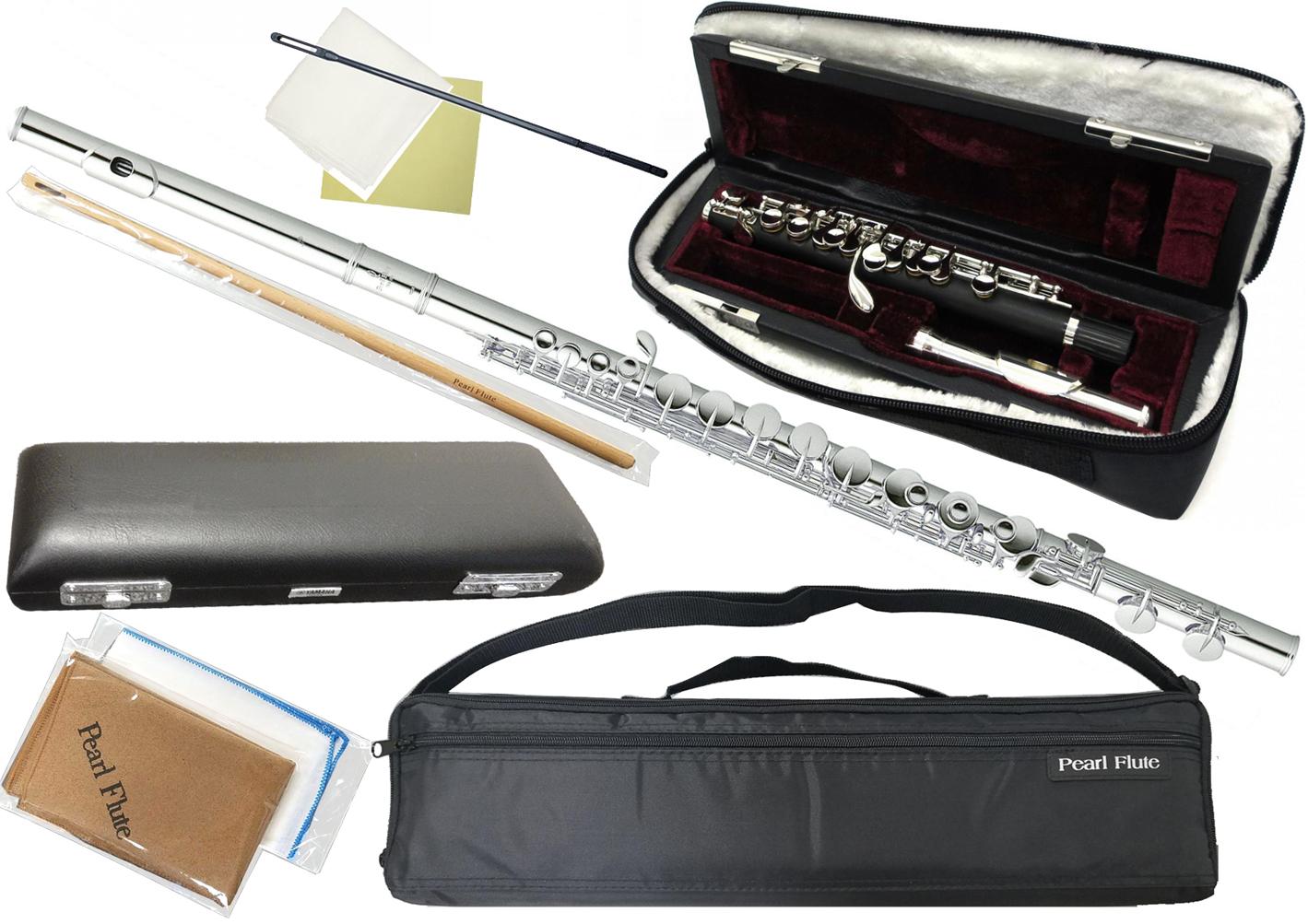 Pearl Flute ( パールフルート ) PFA-206ES アルトフルート 頭部管 銀製 Ag925 ストレート頭部管 Eメカニズム G足部管 銀製頭部管 alto flute PFA206ES セット C 送料無料(代引き不可)