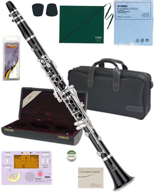 YAMAHA ( ヤマハ ) YCL-650 木製 クラリネット 新品 正規品 日本製 高級 グラナディラ B♭管 本体 プロフェッショナルシリーズ 管楽器 【 YCL650 セット D】 送料無料