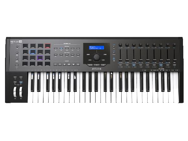 Arturia ( アートリア ) KeyLab 49 MkII Black ◆【MIDIキーボード】【DAW】【DTM】