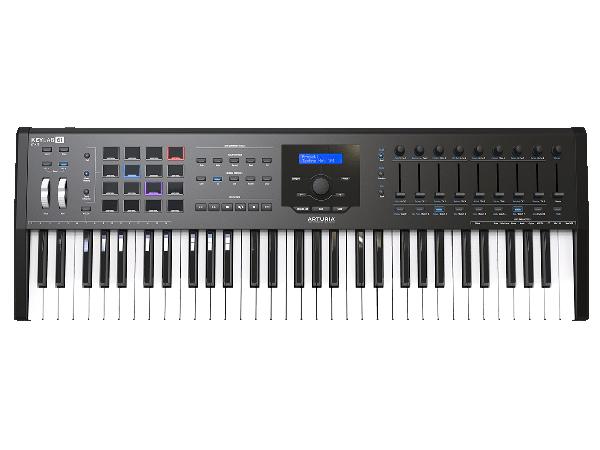 Arturia ( アートリア ) KeyLab 61 MkII Black ◆【MIDIキーボード】【DAW】【DTM】