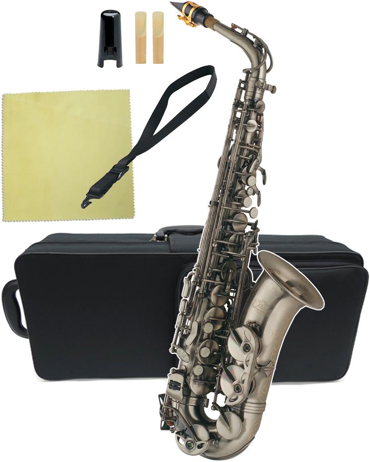J Michael ( Jマイケル ) AL-980GM アルトサックス 新品 アウトレット ガンメタリック カラー サクソフォン 管楽器 本体 管体 E♭調 alto saxophone AL980GM 送料無料