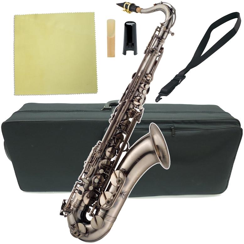 J Michael ( Jマイケル ) TN-1100GM 新品 アウトレット テナーサックス ガンメタリック 管体 管楽器 TN1100GM gun metal tenor saxophone 送料無料