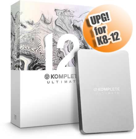 Native Instruments KOMPLETE 12 ULTIMATE Collectors Edition UPG FOR K8-12 ◆【DAW】【DTM】