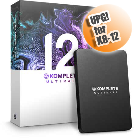 Native Instruments KOMPLETE 12 ULTIMATE UPG FOR K8-12 ◆【DAW】【DTM】