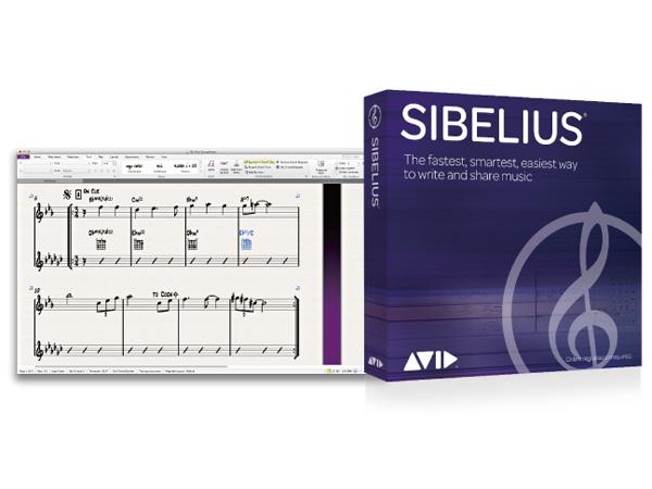 Avid ( アビッド ) Sibelius 通常版(永続ライセンス)[BTSBSBH112]