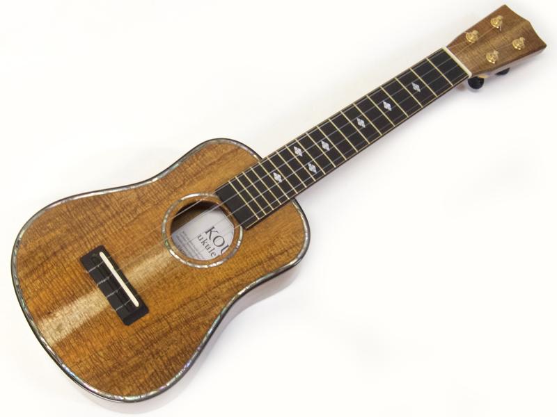 KOU ukulele SBASPK-LN 【日本製 ソプラノ ロングネック ウクレレ】【ウクレレ専用スタンド プレゼント! 決算特価! 】