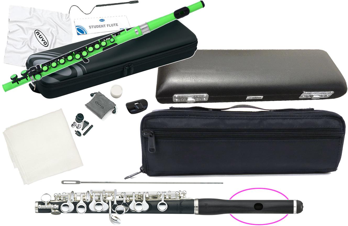 期間限定特別価格 Pearl Flute ( パールフルート ) PFP-105E ピッコロ 合成樹脂 グラナディッテ製 ハイウェーブタイプ歌口 管楽器 頭部管 管体 樹脂製 Eメカニズム 【 PFP105E セット E】 送料無料, 総合通販PREMOA fc76ae02