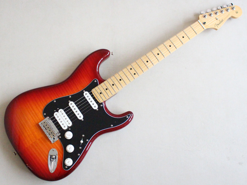 Fender ( フェンダー ) Player Stratocaster HSS Plus Top( Aged Cherry Burst /M)【MEX ストラトキャスター KH】