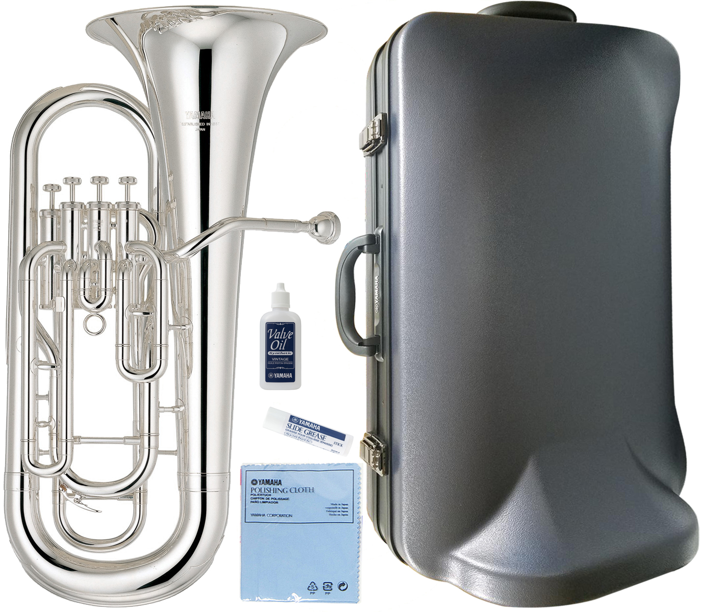 YAMAHA ( ヤマハ ) YEP-321S ユーフォニアム 4ピストン トップアクション 銀メッキ 本体 日本製 管楽器 シルバーメッキ Euphonium YEP321S 一部送料追加 送料無料