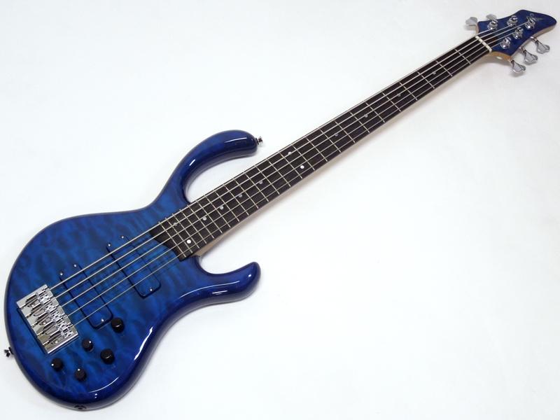 Sago New Material Guitars Aldira 5st / See-through Blue 【日本製 5弦 エレキベース WO】
