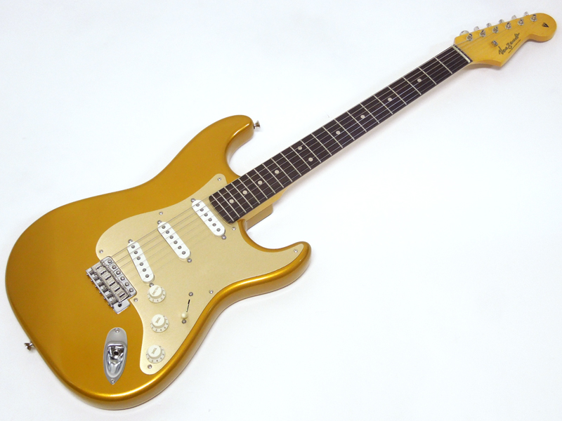 Vanzandt STV-R2 Less Pressure / Firemist Gold w/Anodized PG【日本製 エレキギター WO 8202】
