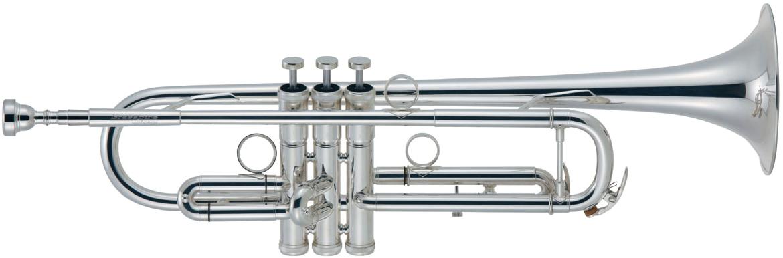 Brasspire Unicorn ( ブラスパイア ユニコーン ) BPTR-750SS アウトレット トランペット 銀メッキ 新品 管楽器 B♭管 本体 シルバーメッキ BPTR750SS trumpet イエローブラス2枚取り 送料無料