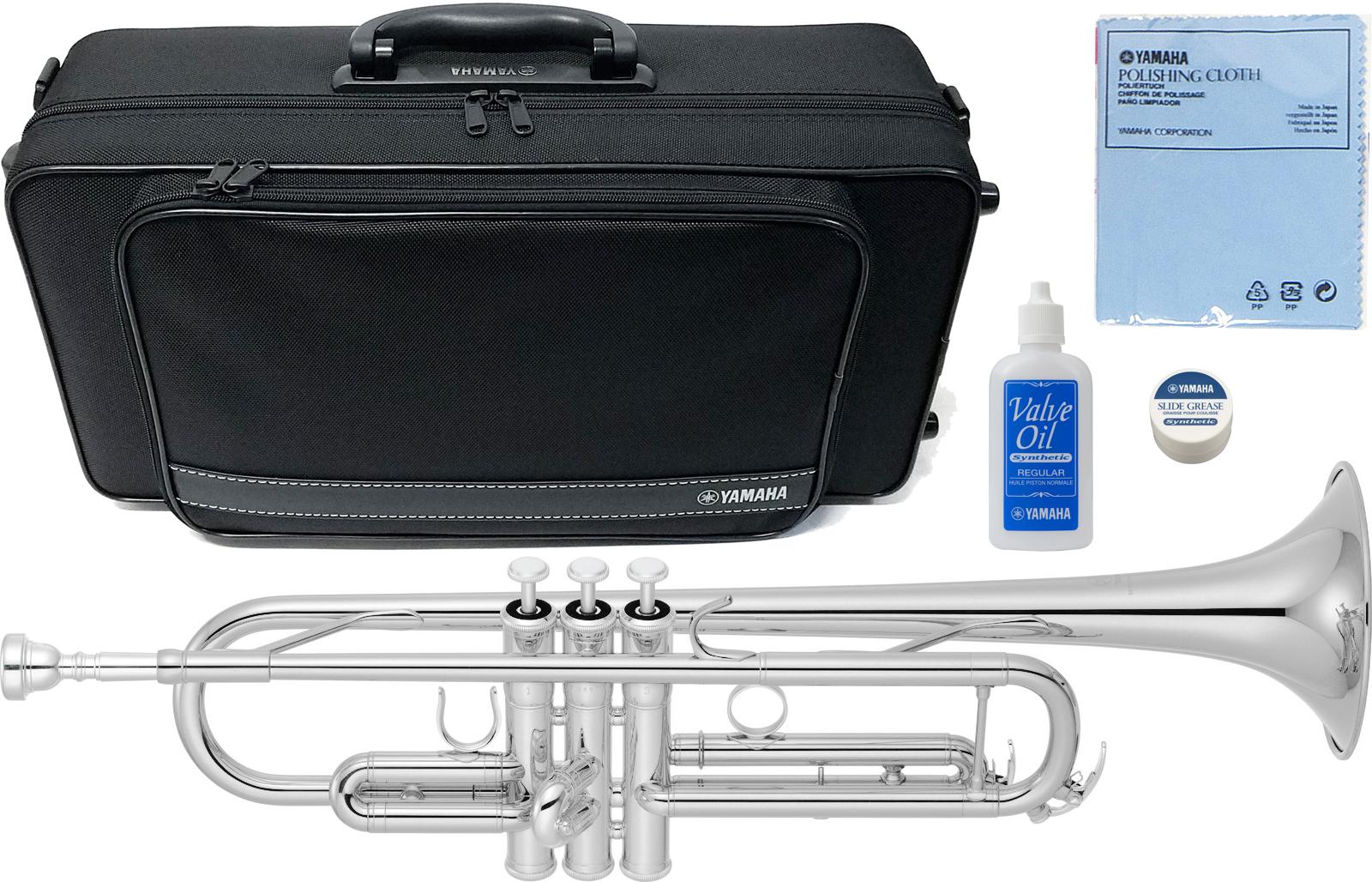 この価格在庫限り YAMAHA ( ヤマハ ) YTR-4335GS2 銀メッキ トランペット 新品 ゴールドブラスベル B♭ 管楽器 初心者 本体 YTR-4335GSII trumpet YTR-4335GS-2-01 送料無料