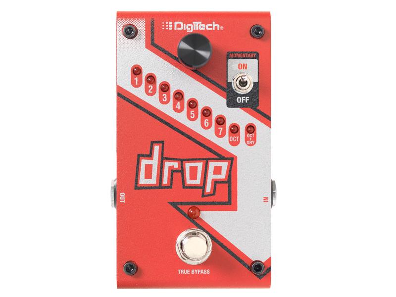 Digitech ( デジテック ) The Drop【ドロップチューン WO】【C4061 パッチケーブルプレゼント 】
