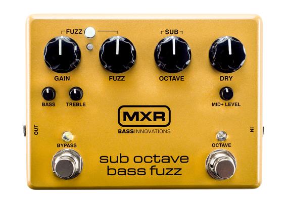MXR ( エムエックスアール ) M287 Sub Octave Bass Fuzz 【ベース用 オークターバー・ファズ 】