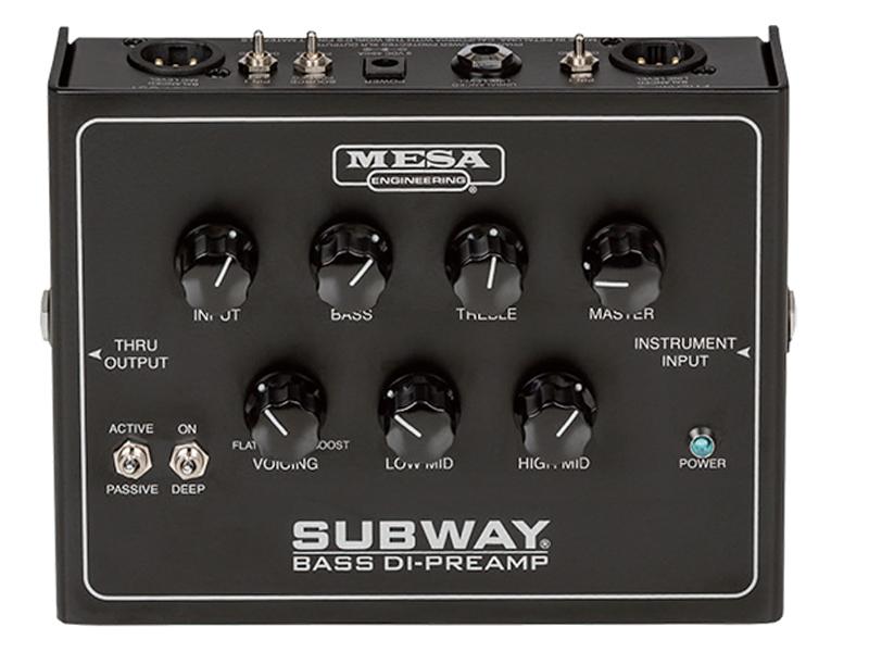 Mesa Boogie ( メサ・ブギー ) Subway Bass DI-Preamp 【ベース用 プリアンプ 】