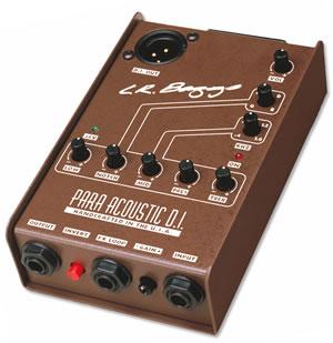 アコギ弾きの強い味方 本日の目玉 L.R.Baggs Para 宅送 Acoustic プリアンプ D.I. アコースティックギター エレアコ