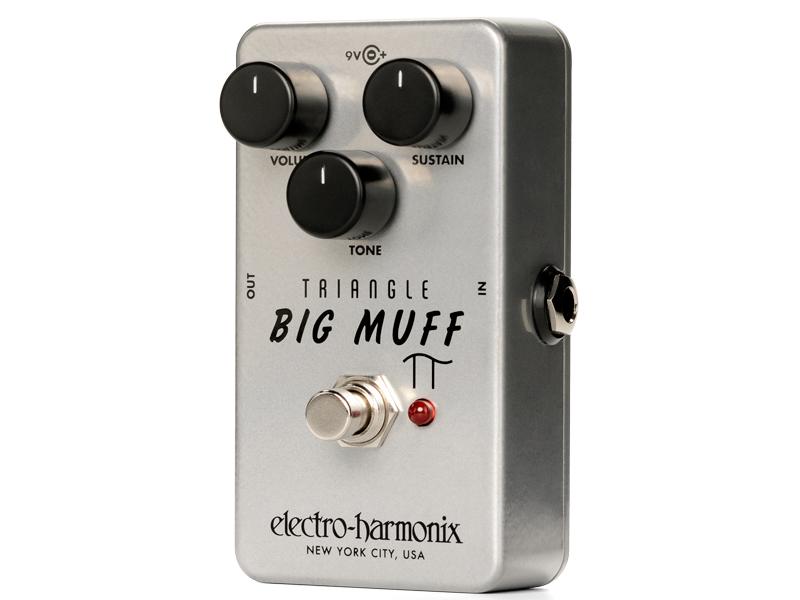 Electro Harmonix ( エレクトロハーモニクス ) Triangle Big Muff Pi 【トライアングル・ビッグマフ WK 】【C4061 パッチケーブルプレゼント 】