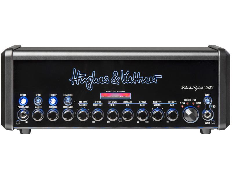 Hughes&Kettner ( ヒュースアンドケトナー ) Black Spirit 200【ギターアンプ ヘッド 初回特典付き】