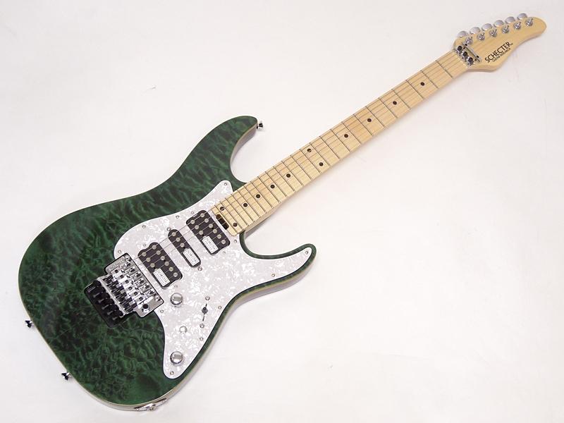 SCHECTER ( シェクター ) SD-2-24-AL See-Thru Green / M【日本製 エレキギター 】