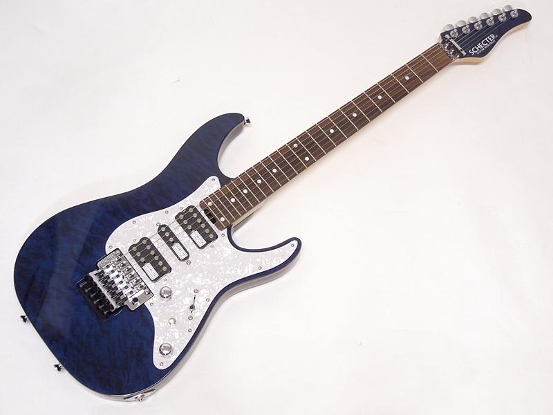 SCHECTER ( シェクター ) SD-2-24-AL See-Thru Blue / PF【 日本製 エレキギター WO】