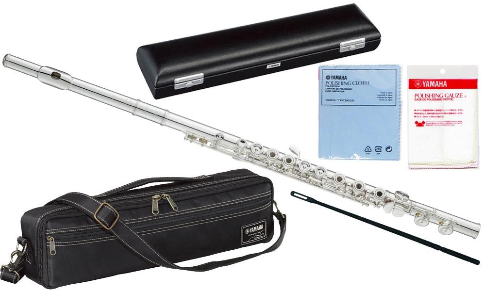 【在庫あり】 YAMAHA ( ヤマハ ) YFL-587 インラインリングキイ フルート フィネス 新品 C管 頭部管 銀製 リングキイ 日本製 管楽器 YFL587 Finesse flute Professional 送料無料 北海道/沖縄/離島不可=送料実費請求