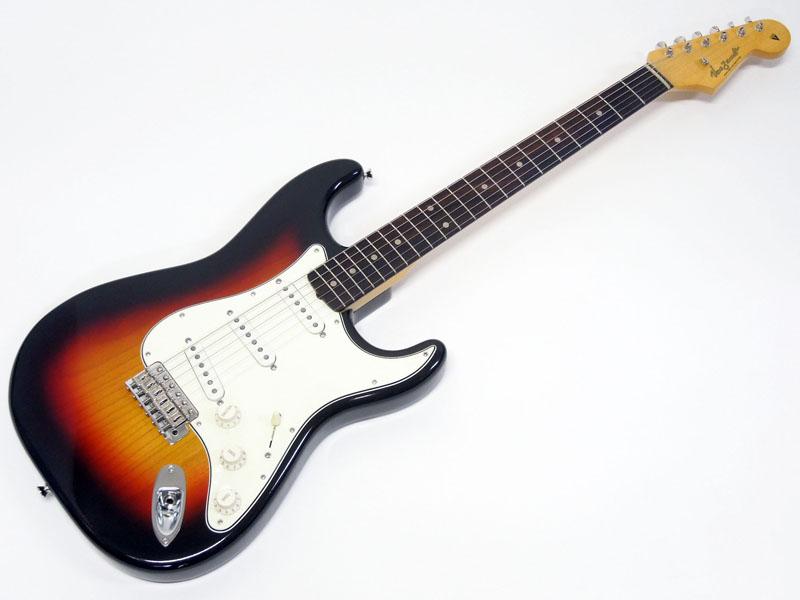 Vanzandt STV-CS2J / 60s 3-Tone Sunburst 【日本製 エレキギター ハカランダ指板 WO 8235】