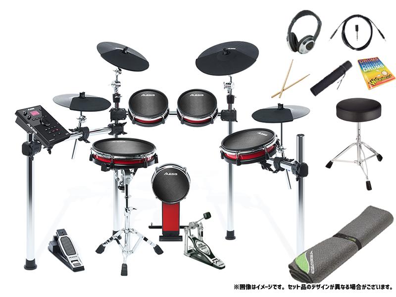 ALESIS ( アレシス ) CRIMSON II KIT スターターセット + セッティングマット エレドラ エレクトリックドラム 電子ドラム