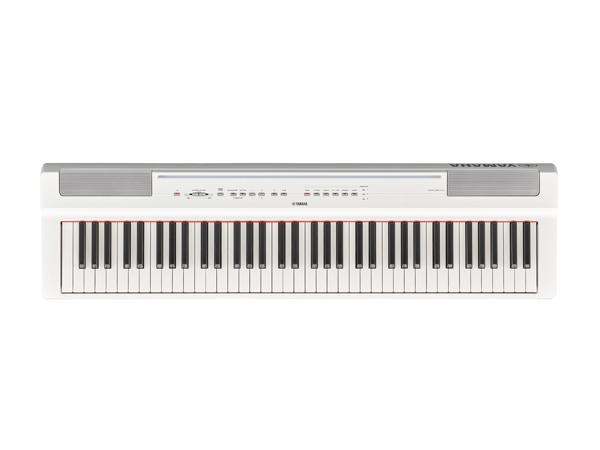 YAMAHA ( ヤマハ ) P-121WH(ホワイト) ◆【電子ピアノ】【73鍵盤】【ピアノタッチ】