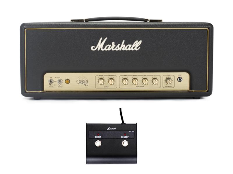 ビッグ割引 Marshall ( ) マーシャル ) Origin50H【真空管 ギター Marshall・アンプヘッド マーシャル】, カワベムラ:77b550ff --- canoncity.azurewebsites.net