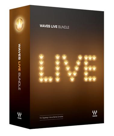 WAVES ( ウェイブス ) Live【USW379-1362-617】【5月特価[~5/31まで] 】 ◆【DTM】【DAW】