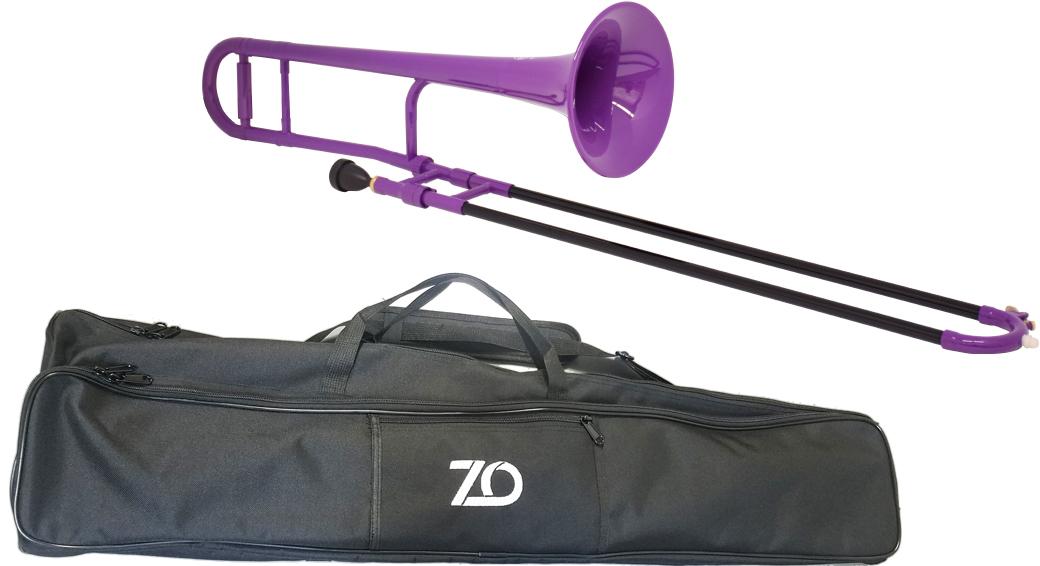 本体 樹脂製 TTB04 紫色 正規品送料無料 プラスチックトロンボーン B♭ デュアル ZO ゼットオー TTB-04 トロンボーン パープル 細管 卓抜 trombone プラスチック purple アウトレット 新品 tenor 北海道 離島不可 沖縄 管楽器 テナートロンボーン