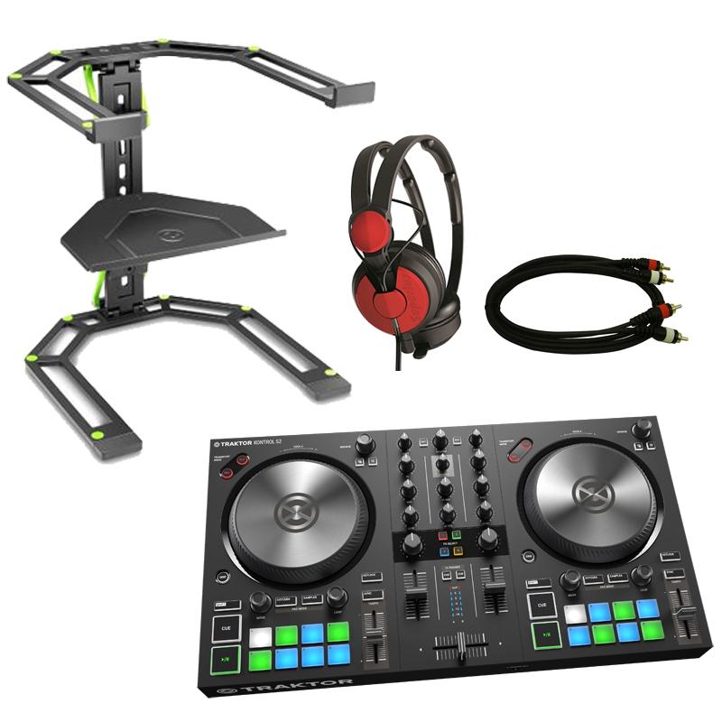 Native Instruments TRAKTOR KONTROL S2 MK3 スターターセット RED ◆【DJ コントローラー】
