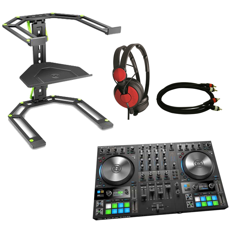 Native Instruments TRAKTOR KONTROL S4 MK3 スターターセット RED ◆【DJ コントローラー】