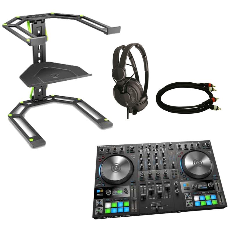 Native Instruments TRAKTOR KONTROL S4 MK3 スターターセット BLACK ◆【DJ コントローラー】