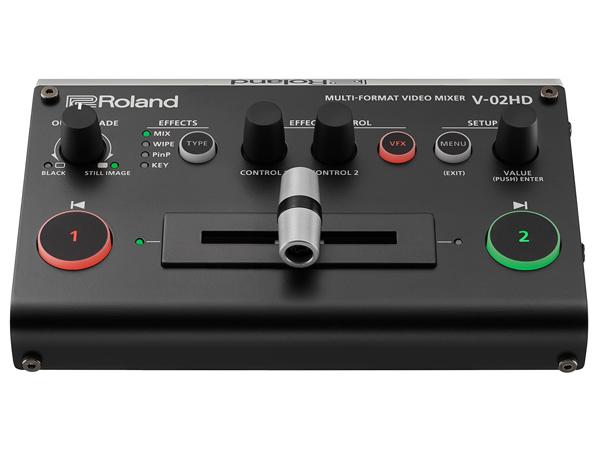 Roland ( ローランド ) V-02HD ◆ MULTI-FORMAT VIDEO MIXER【取り寄せ商品/納期数ヶ月 】 [ 送料無料 ]