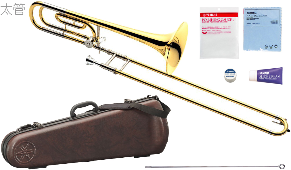 YAMAHA ( ヤマハ ) YSL-620 テナーバストロンボーン 太管 新品 イエローブラスベル B♭/F管 トロンボーン スライド式 日本製 管楽器 Tenor Bass Trombones YSL-620-2 送料無料