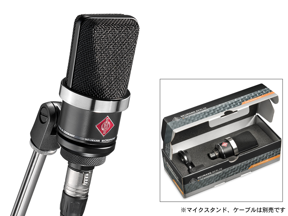 NEUMANN ( ノイマン ) TLM102 BK ◆ コンデンサーマイク ブラック【[ TLM 102 BLACK ]】 [ 送料無料 ]