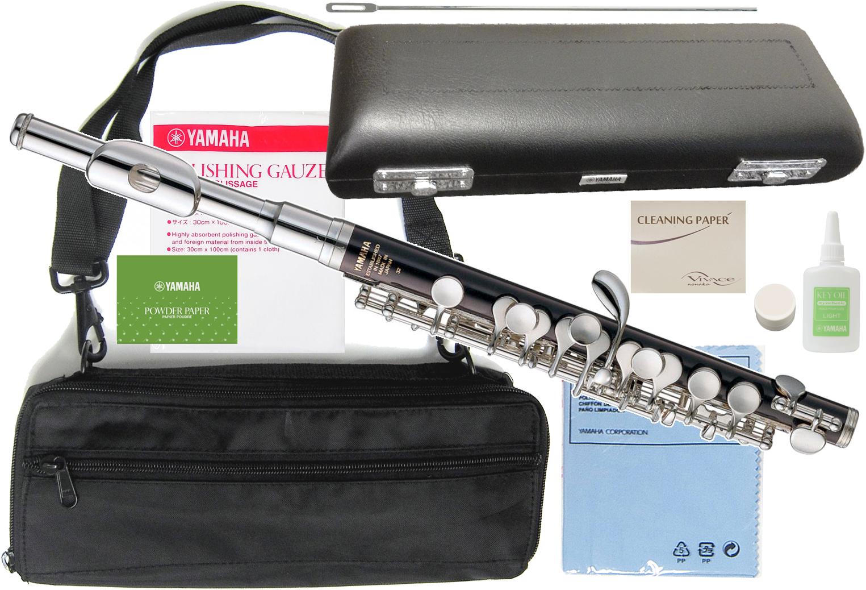 YPC32 管楽器 【 セット ピッコロ YPC-32 ) 送料無料 ABS樹脂 頭部管 主管 YAMAHA 樹脂製 スタンダードモデル ( ヤマハ 白銅製 新品 Eメカ付き D】