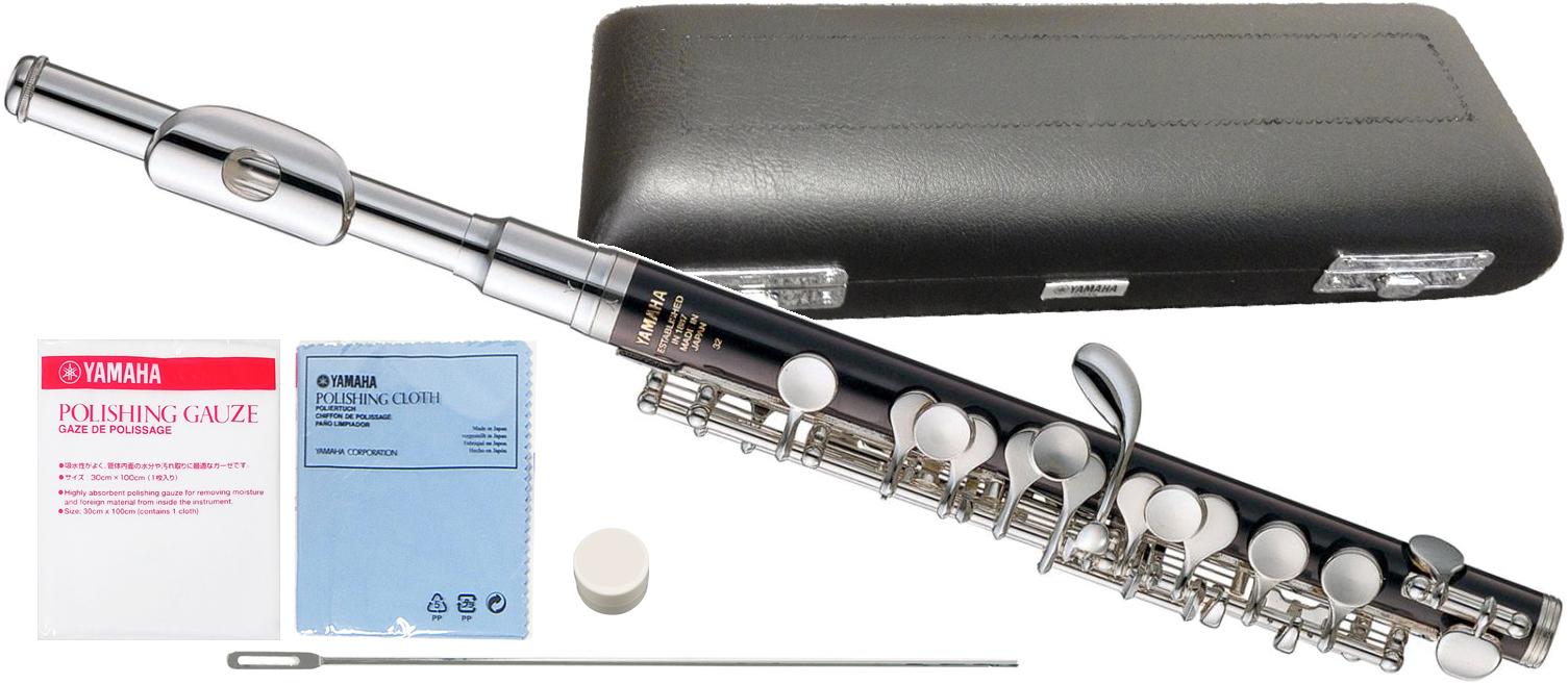YAMAHA ( ヤマハ ) YPC-32 樹脂製 ピッコロ 新品 管楽器 Eメカニズム付き スタンダードモデル 主管 ABS樹脂 頭部管 白銅製 楽器 北海道/沖縄/離島不可=送料実費請求