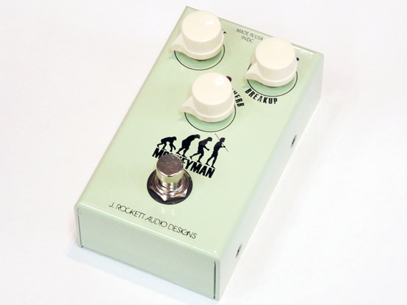 J.ROCKETT AUDIO DESIGNS Monkeyman Over Drive & Reverb 【オーバードライブ・リバーブ WO 】