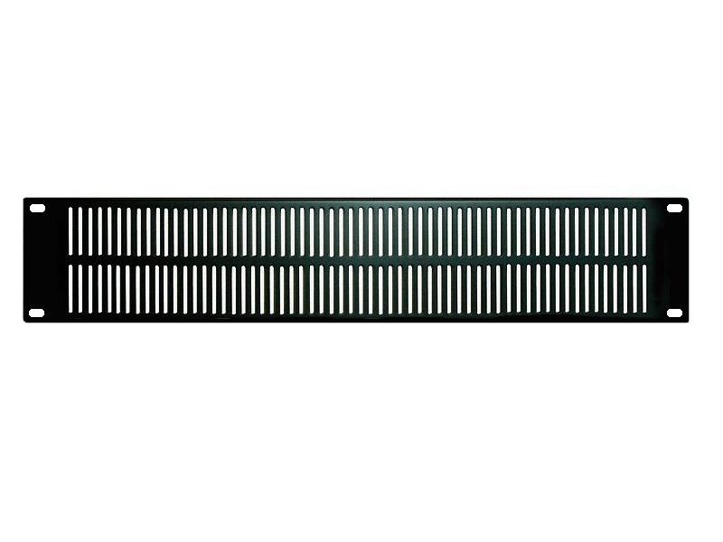 W&S ( ダブルアンドエス ) VL-2 ◆ 2U ベンチレーションパネル 放熱 ・ラックケース用
