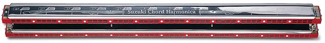 SUZUKI ( スズキ ) SCH-48 コードハーモニカ アンサンブル用 5コードパターン 12調子 メジャー セブンスコード マイナー ディミニッシュ SCH48 chord harmonica