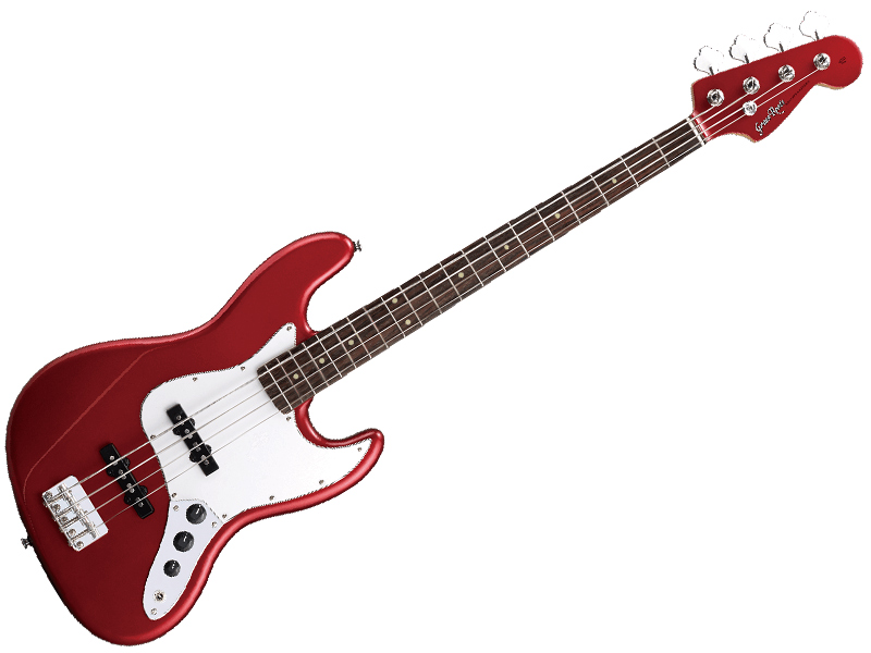 Grass Roots ( グラスルーツ ) G-JB-55R(Candy Apple Red )【エレキベース】