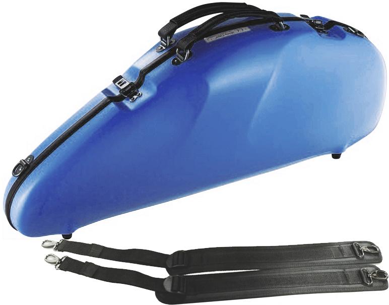 おすすめ C.C. Shiny シャイニーケースII リュックタイプ 水色 ブルー CCシャイニーケース II 予約 安売り CC2-AAS-LBL アルトサックス ハードケース case LBL saxophone ケース エアロ ライトブルー aero alto アルトサクソフォン